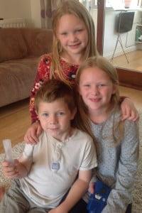 Tess, Zac and Erin