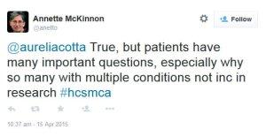 HCSMCA1 tweet