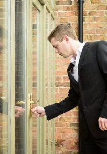 Getting Home - Unlocking Front Door