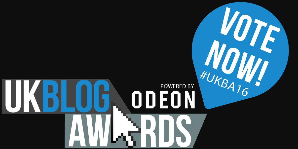 Vote now - UK Blog Awards