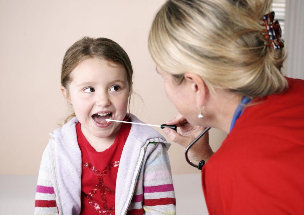 testing for strep throat
