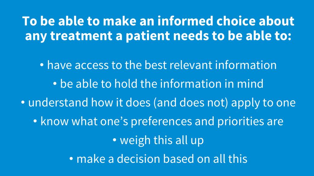 informed decision-making