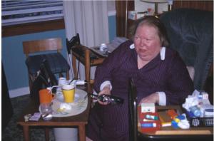 A research participant